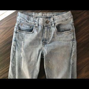 H & M Super Stretch Skinny Fit Denim Jeans